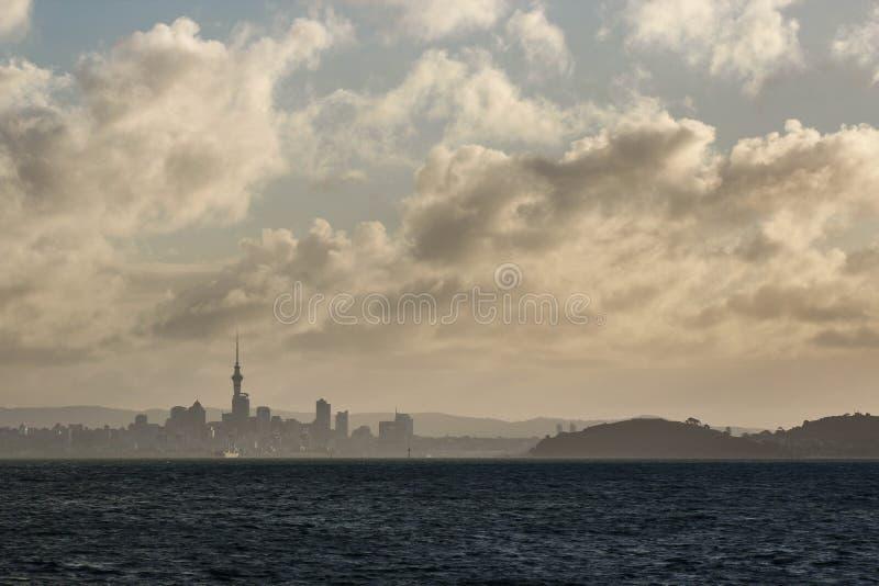 Última luz para Auckland fotos de stock royalty free