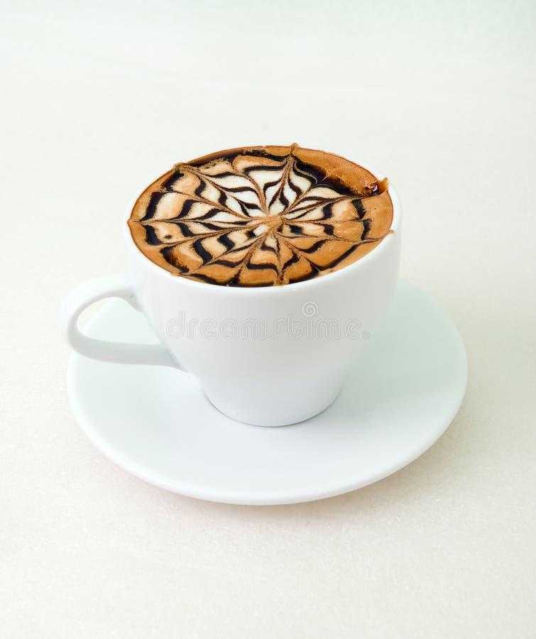 Último café con el chocolate imagen de archivo libre de regalías