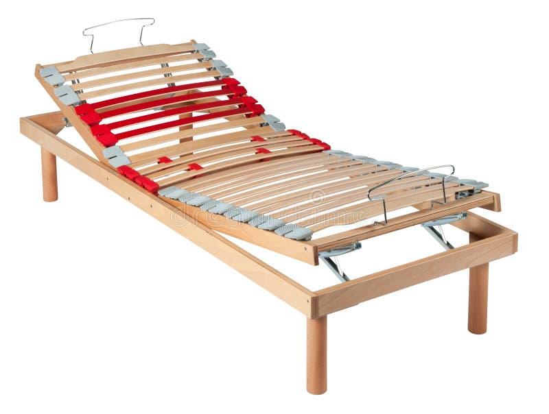Única cama líquida ortopédica com movimentos manuais imagens de stock
