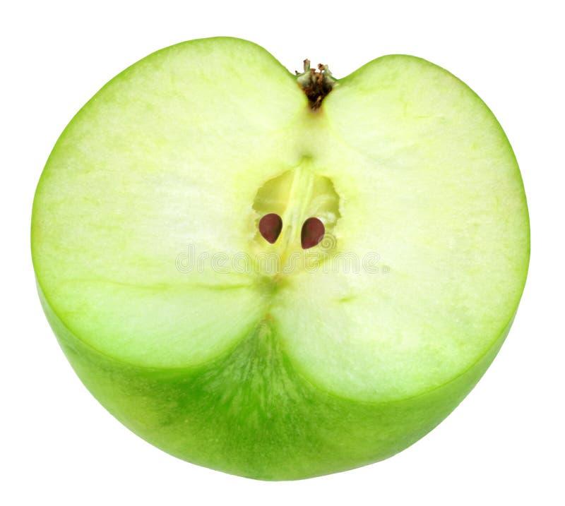 Única cruz da maçã verde fotografia de stock royalty free