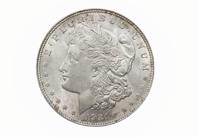 Único dólar de Morgan imagens de stock royalty free