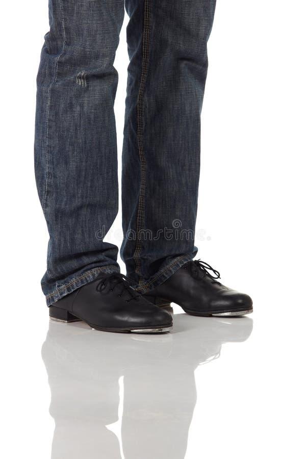 Download Único Dançarino De Torneira Foto de Stock - Imagem de longo, pés: 10064812