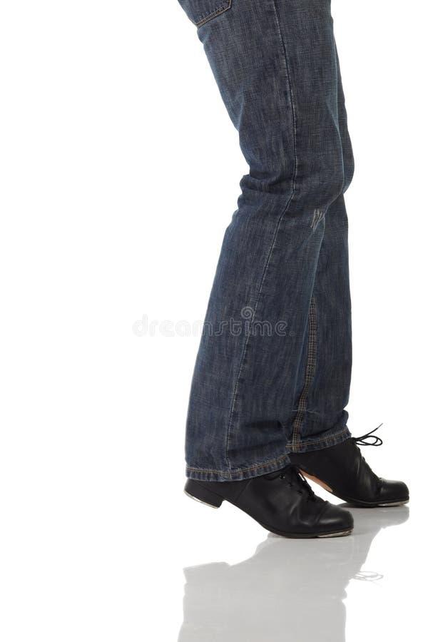 Download Único Dançarino De Torneira Imagem de Stock - Imagem de prática, performer: 10064815