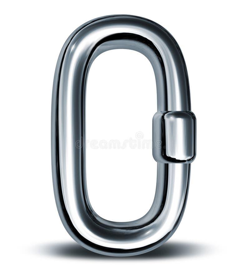 Único forte inteiro da ligação Chain ilustração royalty free
