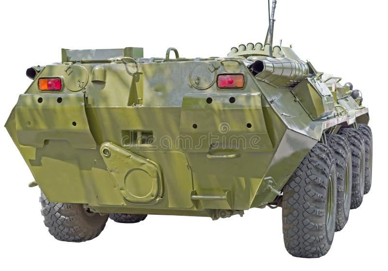 Ü.t.r.-Militärgepanzertes mtw mit Rädern stockfotos