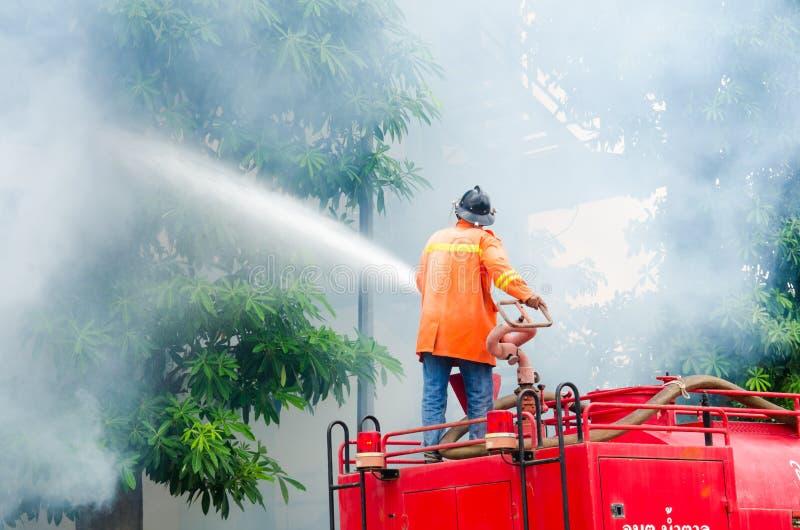 Übendes Feuerschutzplan lizenzfreie stockbilder