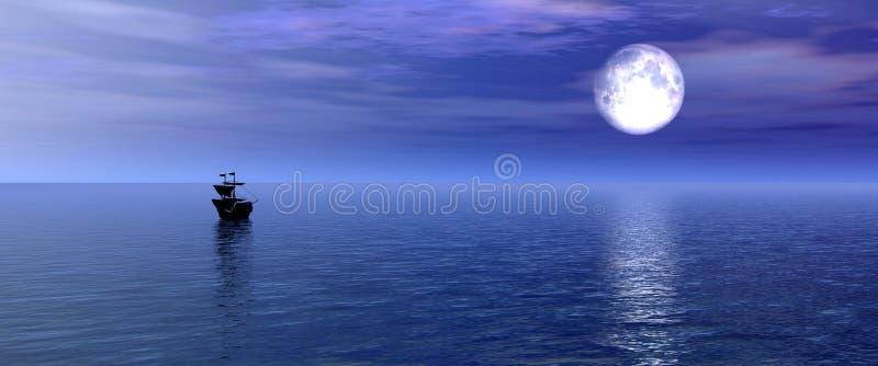 Download Über dem Horizont hinaus stock abbildung. Illustration von horizont - 31362