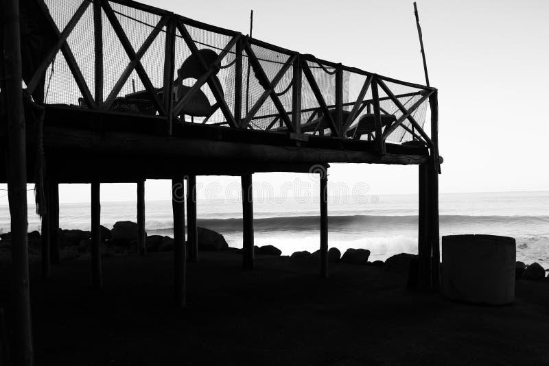 Über dem Ozean stockfoto