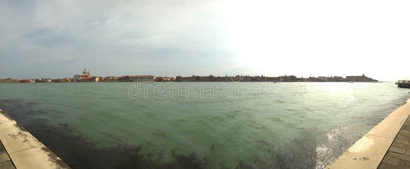 Überblick über das Meer von †‹â€ ‹Venedig lizenzfreies stockbild