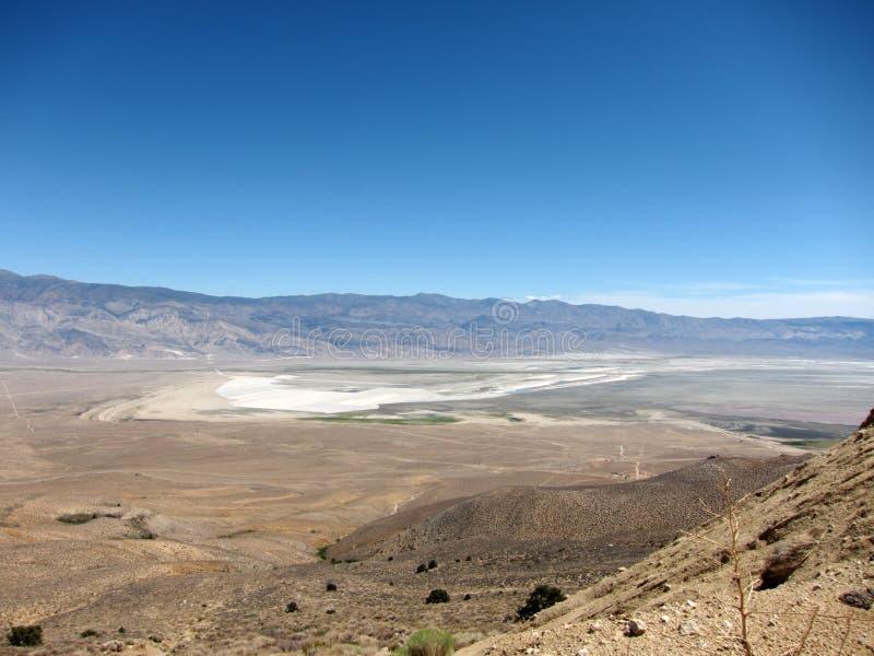 Überblick über Owens-Tal, Kalifornien, USA stockfotografie