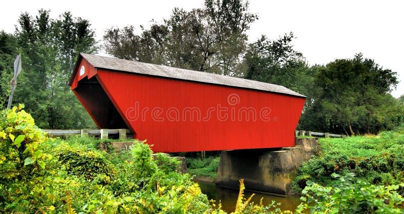 Überdachte Brücken von Vermont lizenzfreie stockfotos