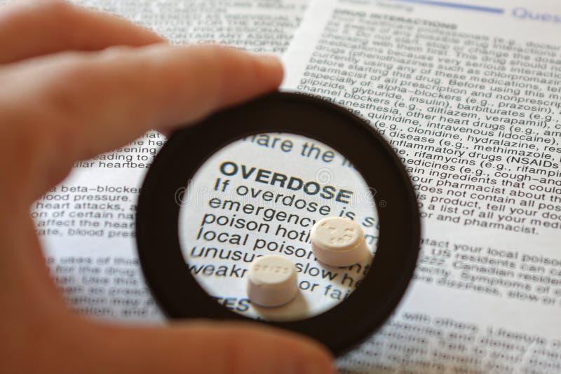 Überdosis stockfotografie