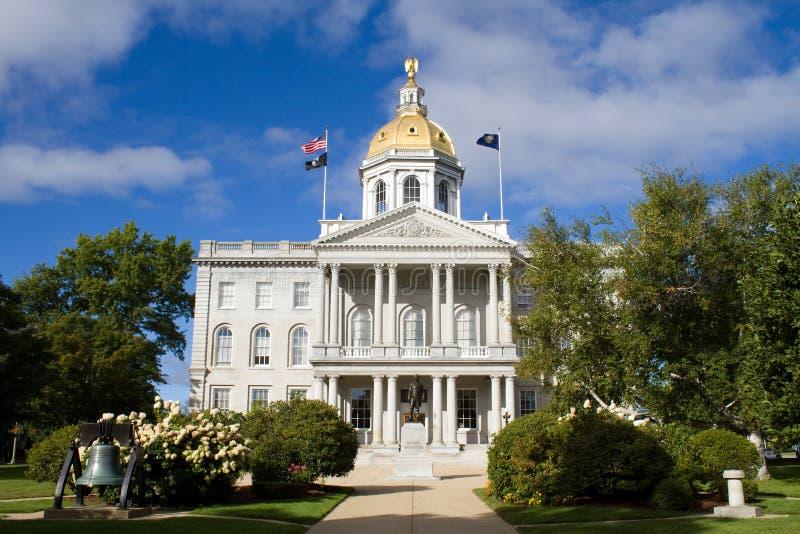 Übereinstimmungs-Staat New Hampshire-Haus lizenzfreie stockfotos