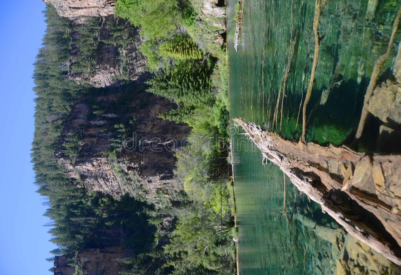 Übergebung See - Kolorado lizenzfreie stockfotografie
