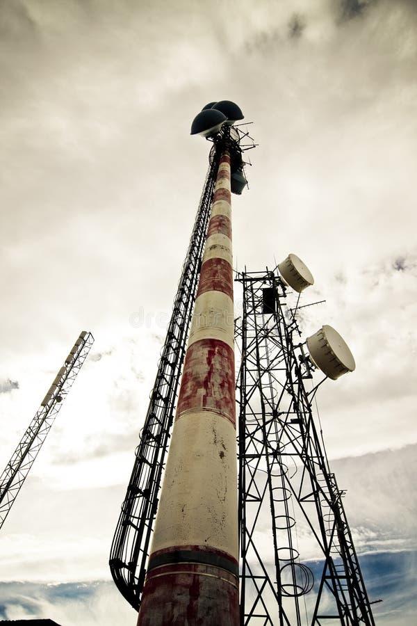 Überholte Antenne stockfotos