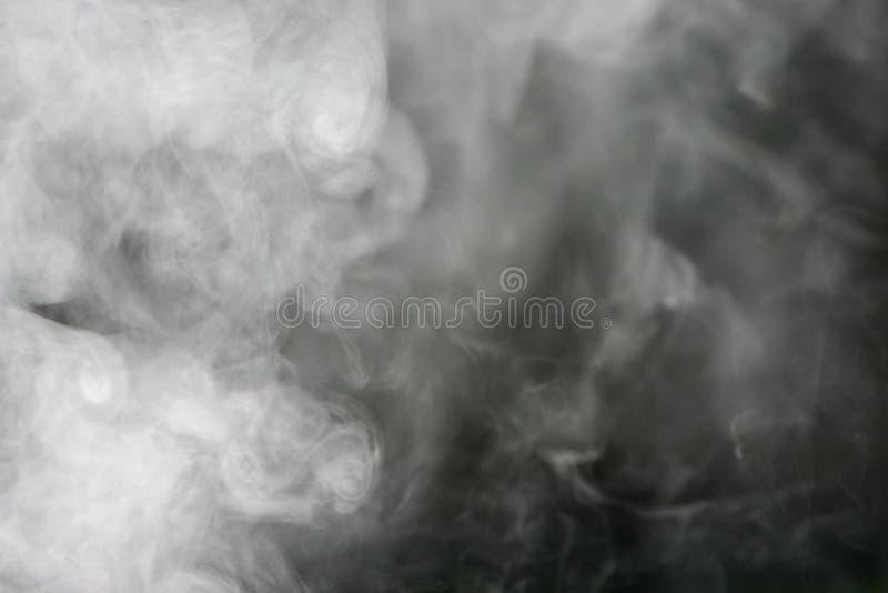 Überlagerter Rauch stockbilder