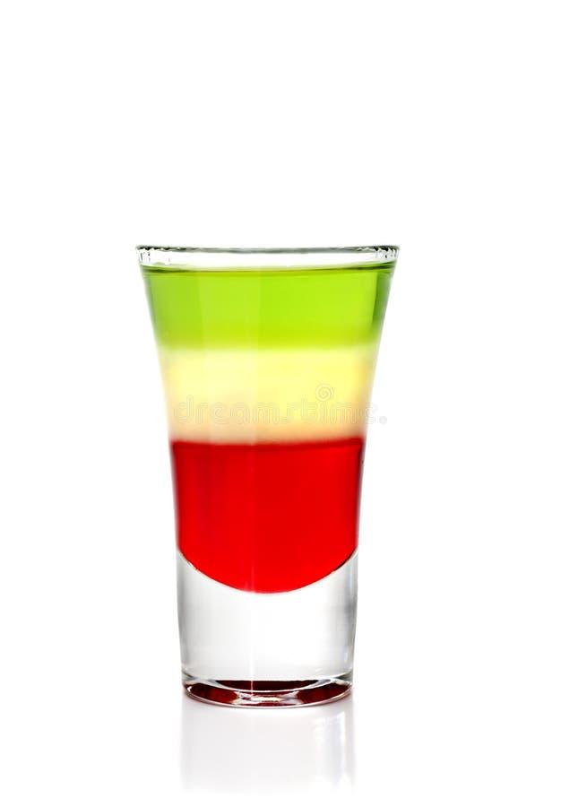 Überlagertes Cocktail mit Wermut lizenzfreie stockfotos