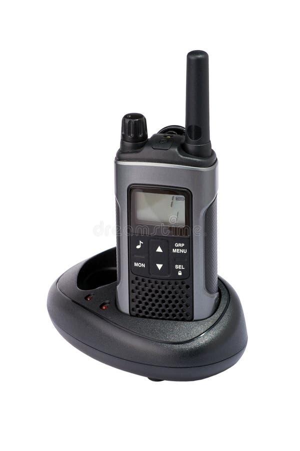 Übermittler des portablen Radios stockfotos