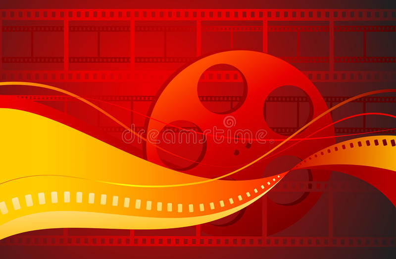 Überprüfen Sie bitte mein Portefeuille auf mehr Filmbildern lizenzfreie abbildung