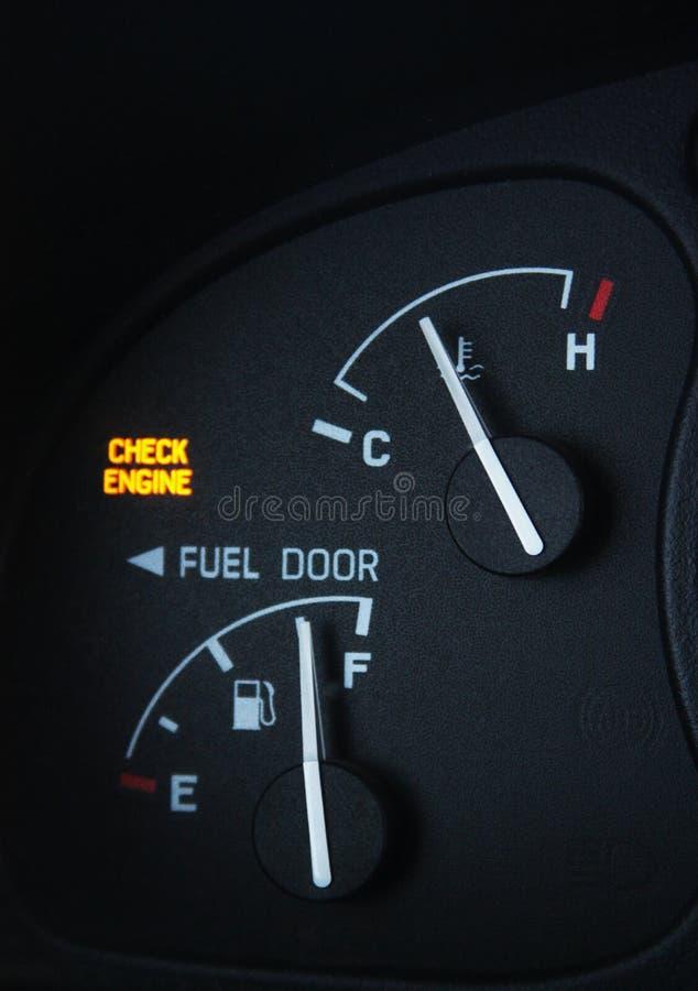 Überprüfen Sie Motor-Leuchte