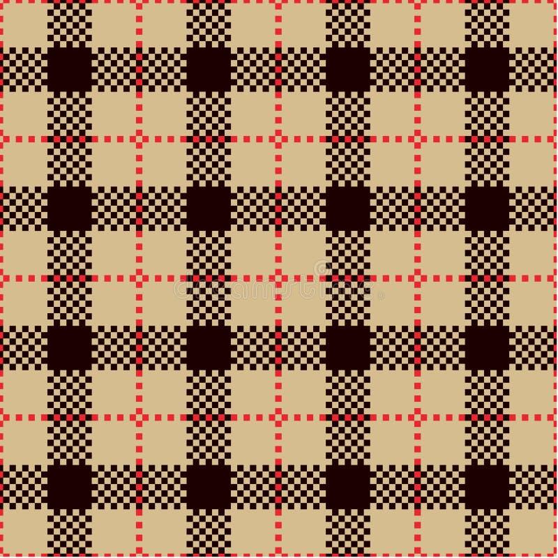 Überprüfen Sie Plaid-Muster stockfoto