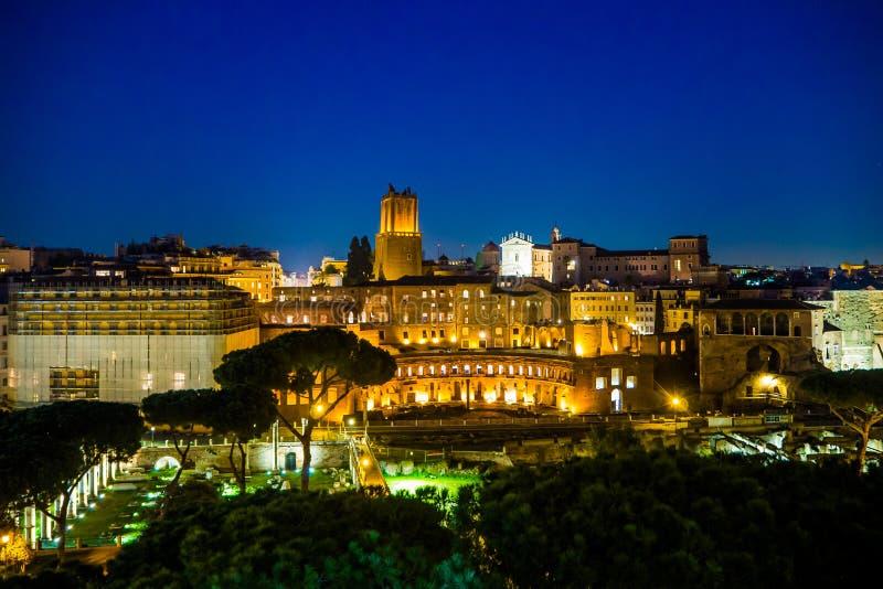 Überraschender sonniger Tag in Rom lizenzfreies stockbild