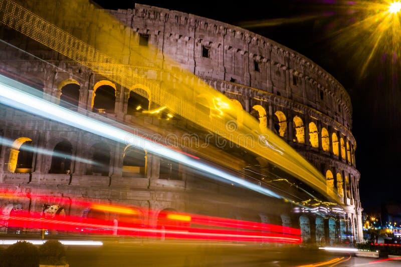 Überraschender sonniger Tag in Rom lizenzfreies stockfoto