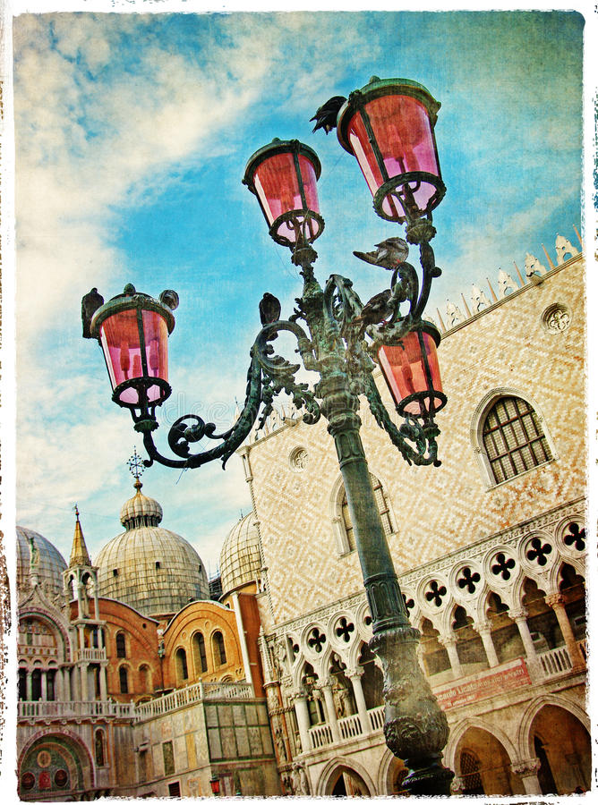 Überraschendes Venedig stockbilder