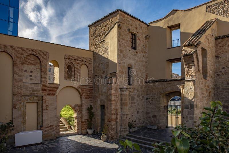 Überreste der Kirche von San-Polo in Salamanca lizenzfreies stockbild