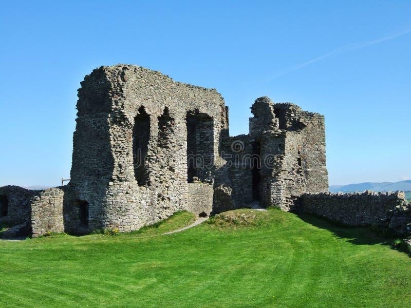Überreste des Kendal Schlosses stockbilder