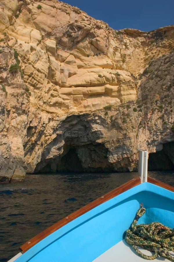 Überschrift zur Höhle stockbild