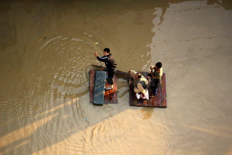 Überschwemmung lizenzfreies stockbild