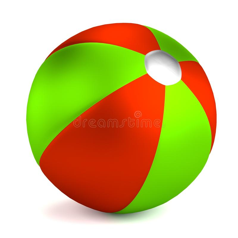 Übertragen Sie vom Wasserball stock abbildung