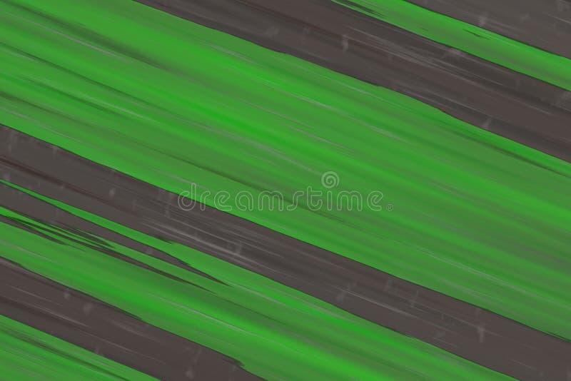 Übertragen Steinnaturhintergrund 3d der grünen Schrägstreifen lizenzfreies stockbild