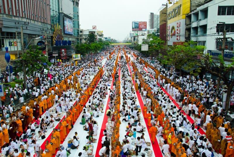 Übertragungsgüte im Buddhismus. stockfotografie