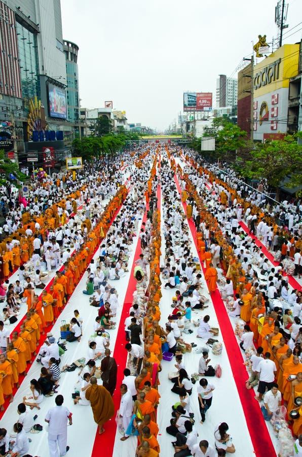 Übertragungsgüte im Buddhismus. stockfotos