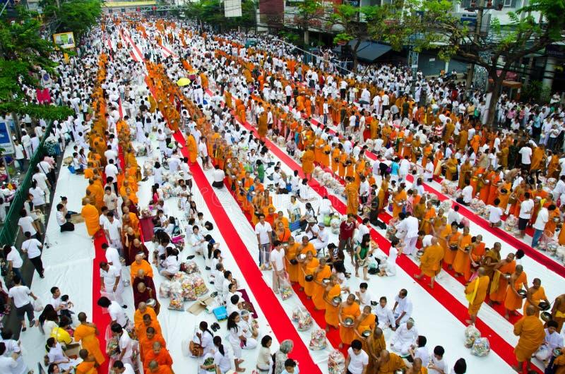 Übertragungsgüte im Buddhismus. stockbilder