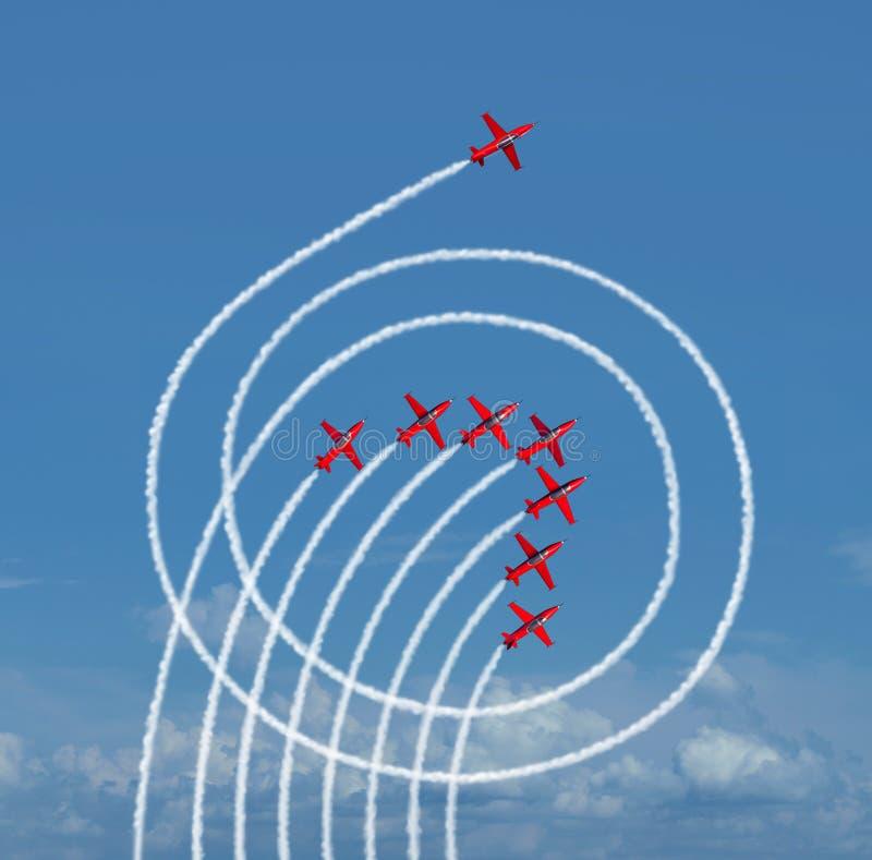Übertreffen Sie den Markt an Leistung vektor abbildung