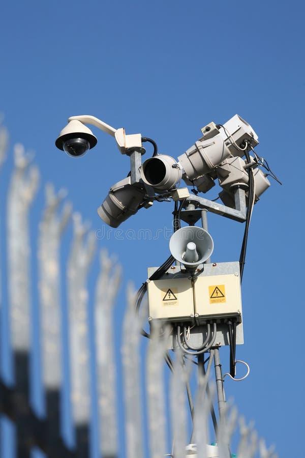 Überwachen lizenzfreie stockbilder