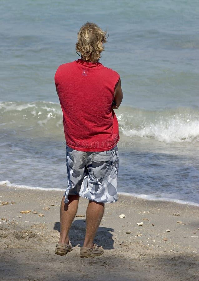 Überwachen der Wellen lizenzfreie stockfotos