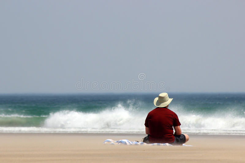 Überwachen der Wellen lizenzfreies stockbild