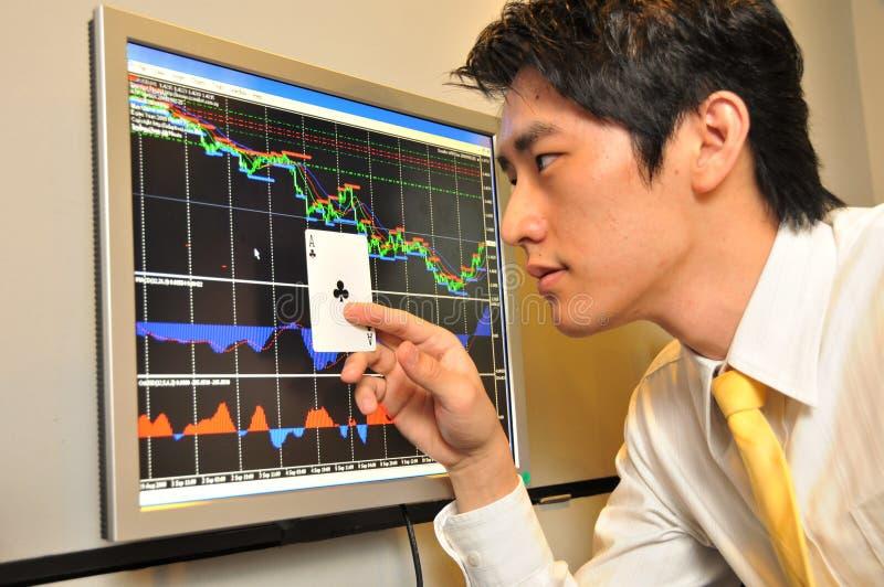 Überwachen des Aktienmarktes 4 lizenzfreies stockbild