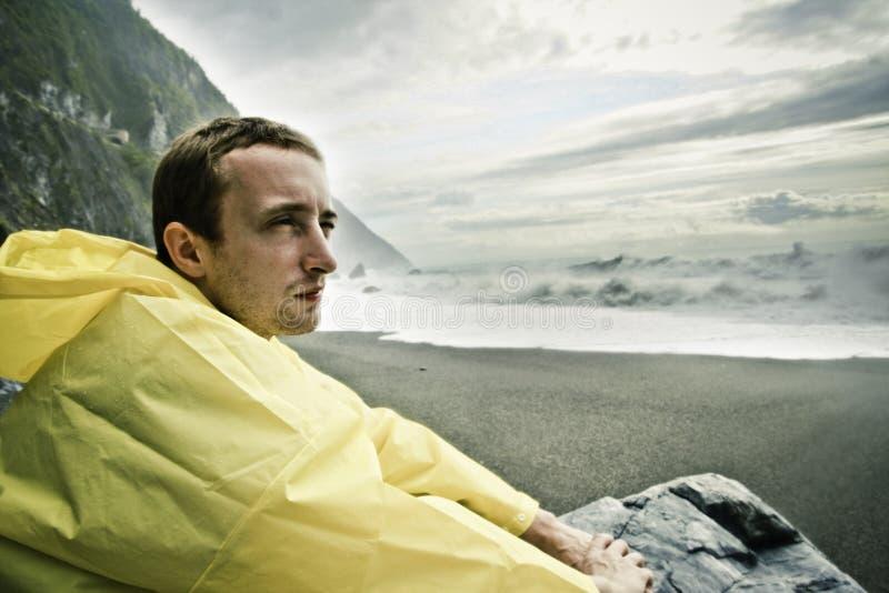 Überwachen des Ozeans lizenzfreies stockfoto