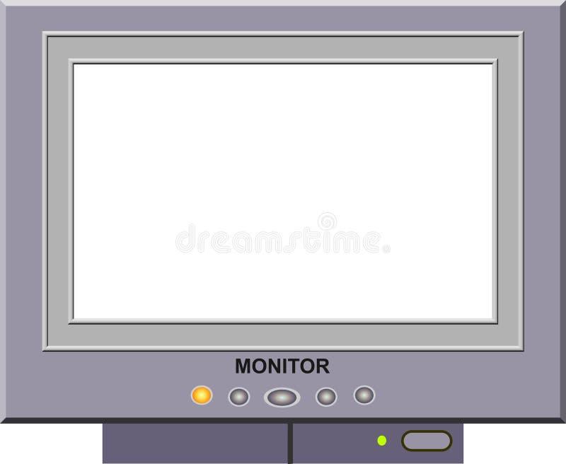 Download Überwachen Sie Bilderrahmen Stock Abbildung - Illustration: 29374