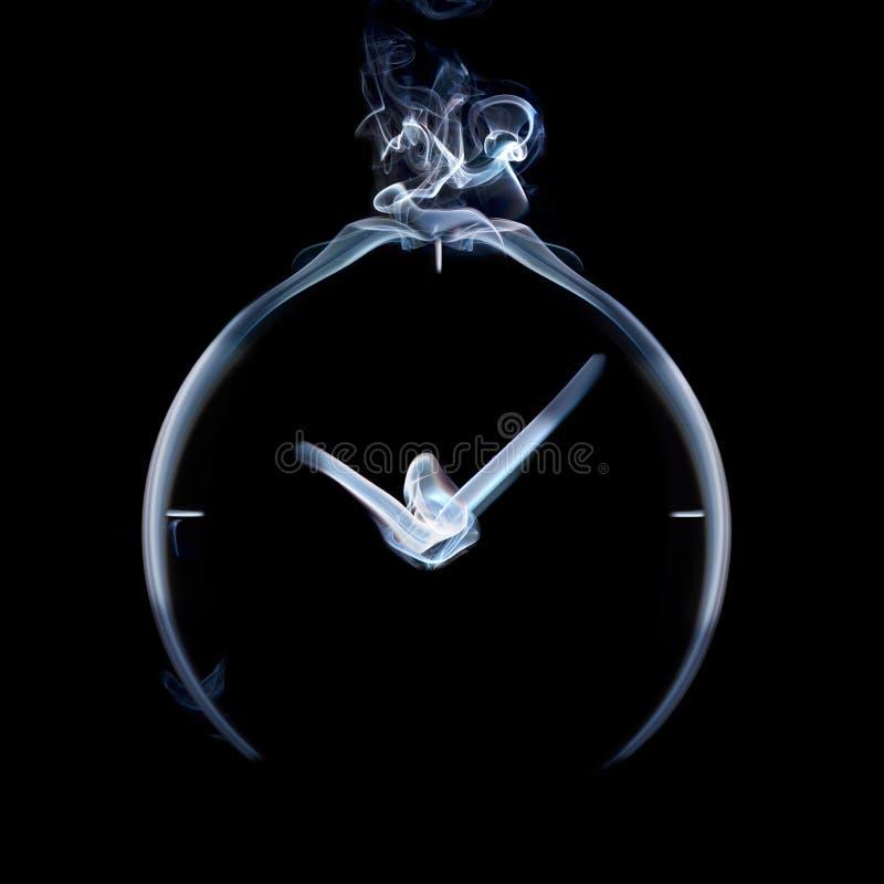 Überwachen Sie den Rauch lizenzfreie stockfotos