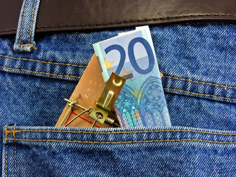 Überwachen Sie Ihr Geld stockfotografie