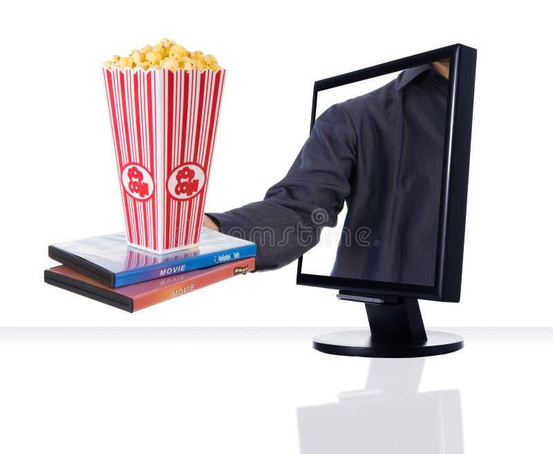 Überwachen Sie Unterhaltung stockfotos