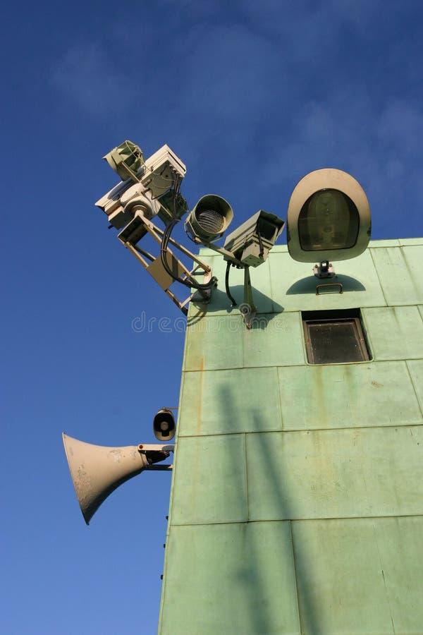 Überwachung lizenzfreies stockbild
