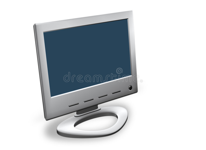 Überwachungsgerät lizenzfreie abbildung