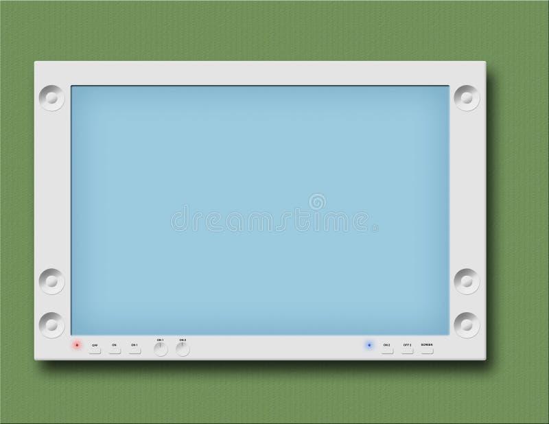 Überwachungsgerät oder flacher Fernsehapparat